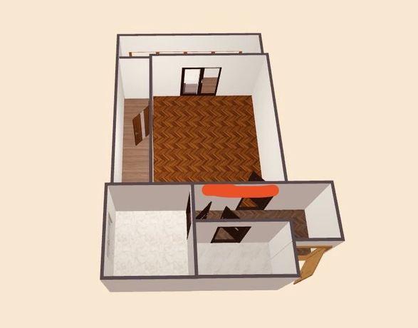 Однокімнатна квартира під ремонт