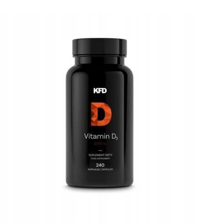 Витамин KFD Vitamin D3 2000 МЕ (240 порций), Наличие! Наложка