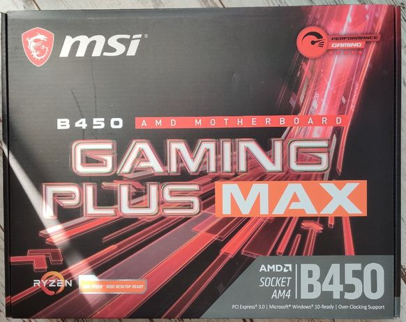 Płyta Główna MSI B450 Gaming Plus MAX Gwarancja