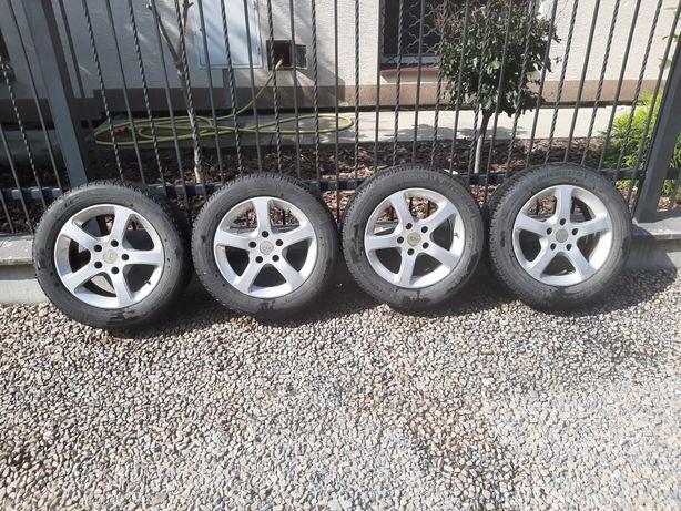 Alufelgi 16 z oponami zimowymi Michelin 225/55R16 99T