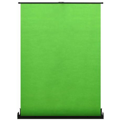 """vidaXL Fundo fotográfico verde 102"""" 4:3 51355"""