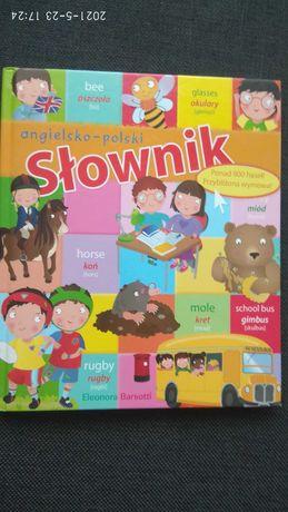 Słownik angielsko-polski obrazkami dla dzieci