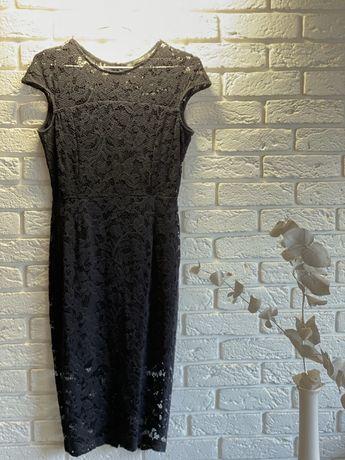 Zara черное платье-футляр