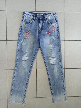 Женские мом джинсы, жіночі джинси