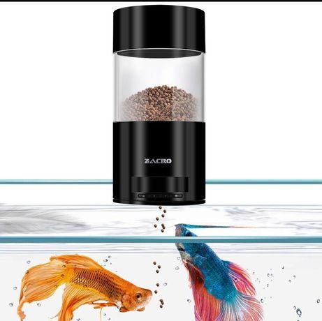 Автоматическая кормушка для рыбы Zacro - влагостойкая кормушка