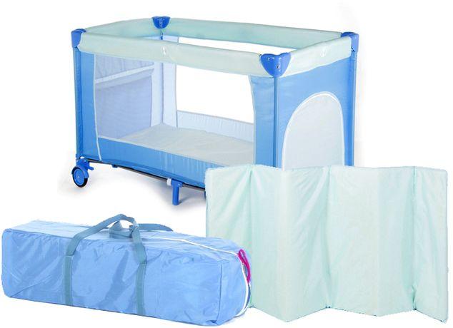 NOWE łóżeczko turystyczne kojec dla dzieci SIMPLE materacyk kolory