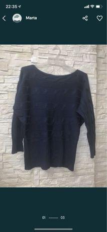 Granatowy swetr 15zl