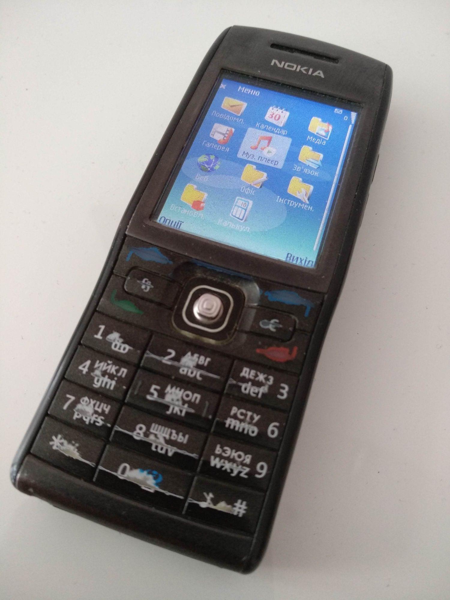 Nokia E50-1, Нокіа, телефон, Symbian, повний комплект, з навушниками
