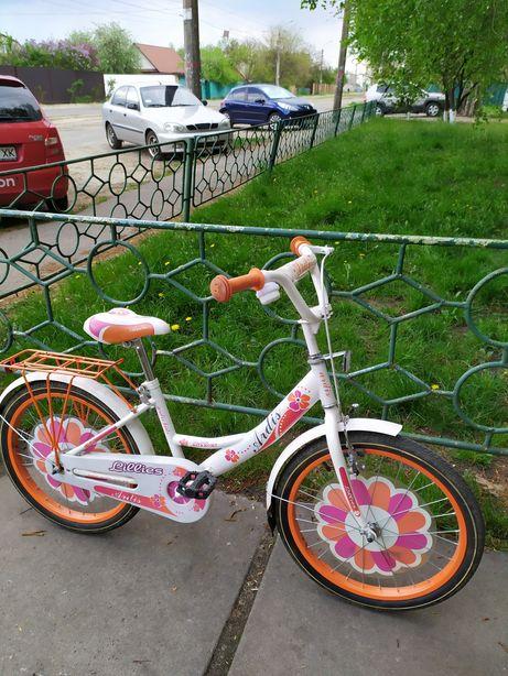 """Велосипед детский для девочки (диаметр колёс 20"""")"""