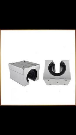 3 Rolamento Linear suporte em alumínio para CNC - Novo