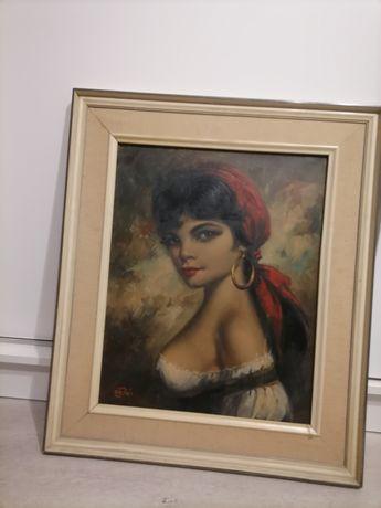 Sprzedam stary obraz Willi DEPRÉ