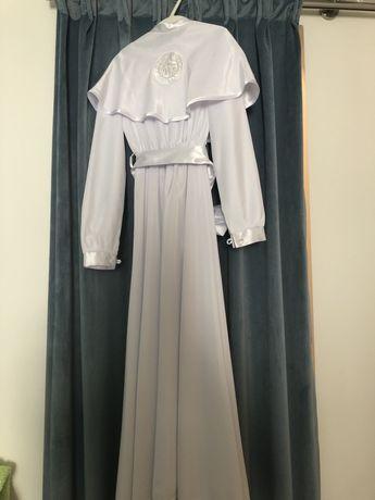 Alba sukienka komunijna r 134 pasek z kokarda