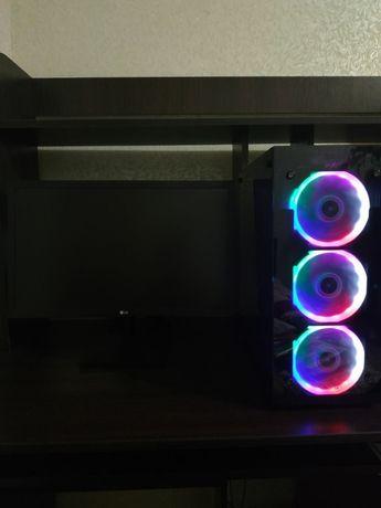 Rx 470 + I7 24 ЯДРА! Мощный Игровой Компьютер ПК 2620v3 2640v3 2678v3