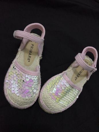 Туфли, сандали, босоножки Primark в паетках