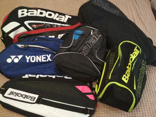 Тенисние  сумка, рюкзак, чохол Babolat,  Willson, Yonex