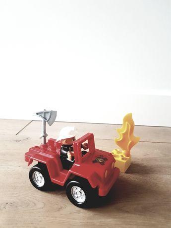 Lego duplo straż pożarna dowódca strażak 6169