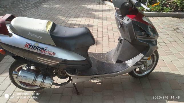 Продам скутер Kanuni.
