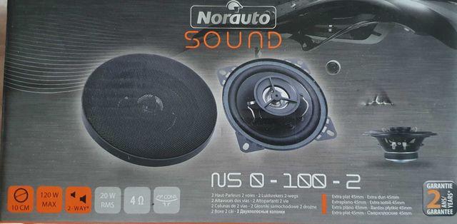 Głośniki SOUND 20W-120W,2 drożne,100mm