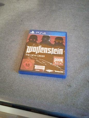 Gra Wolfenstein na ps4 za 30zl