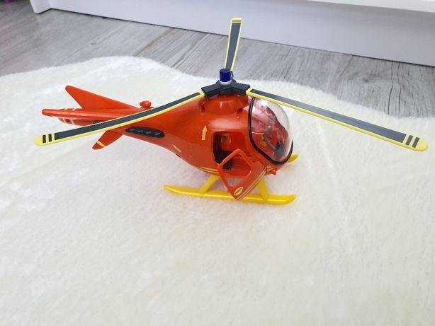 Duży Helikopter Ratowniczy Strażak Sam Prism Oryginalny Sprawdź Pojazd