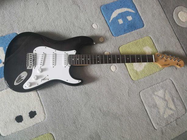 Gitara Be Joe Atlanta + piecyk Blackstar 10W + stojak