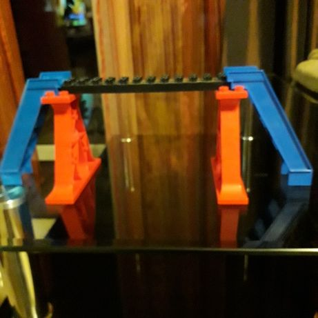 Lego duplo pociąg ,tory- kładka