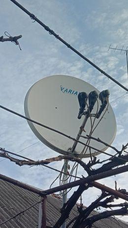 Спутниковая антенна + тюнер