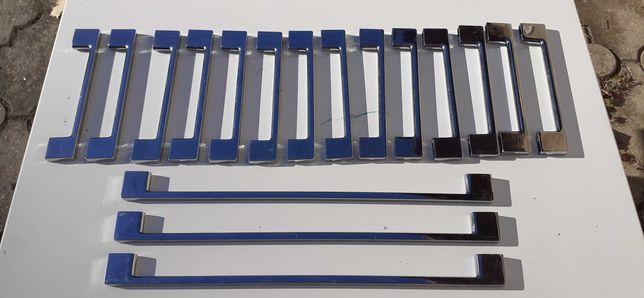 Uchwyty meblowe metalowe chromowane