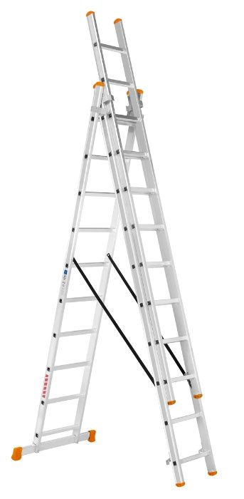 Escadas em Alumínio Tripla 3+3+3 (alcança os 7,5 metros) Barrô E Aguada De Baixo - imagem 1