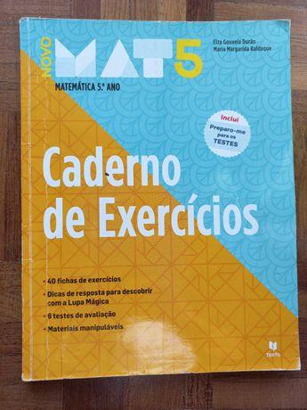 Novo Mat 5 - Matemática - 5º Ano - Caderno de Atividades