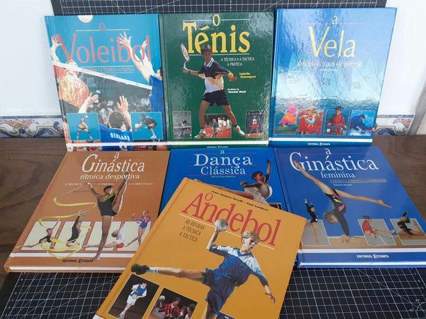 Vela, Dança Classica, Andebol, Voleibol, ténis, Ginástica Ritmica