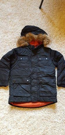 Куртка пуховик детский зима Zara