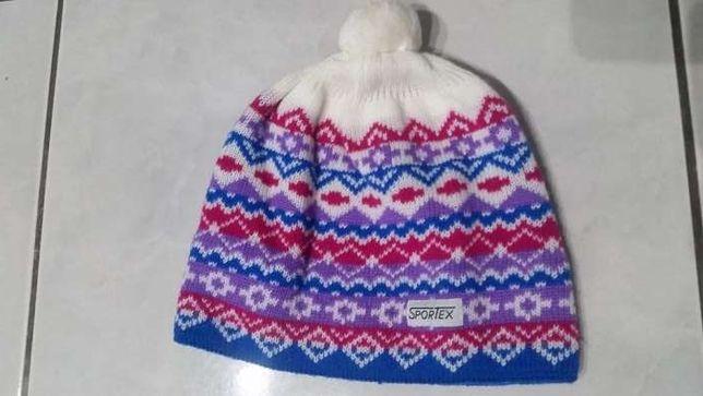 czapka zimowa, ciepłą sportex, uniseks, damska, męska