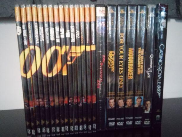 kolekcja james bond,22 płyt dvd
