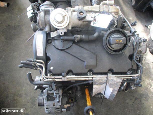 Motor PD 100cv 1.9 TDI ref: AVQ - VW Touran - VW Polo - VW Caddy -  VW Golf -  VW Passat - completo