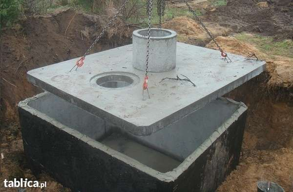 Szamba betonowe z ATESTEM i 5l gwarancją, kanały samochodowe, zbiornik