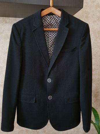 Пиджак школьный стильный на мальчика подростка р.152-158 на 12-13 лет