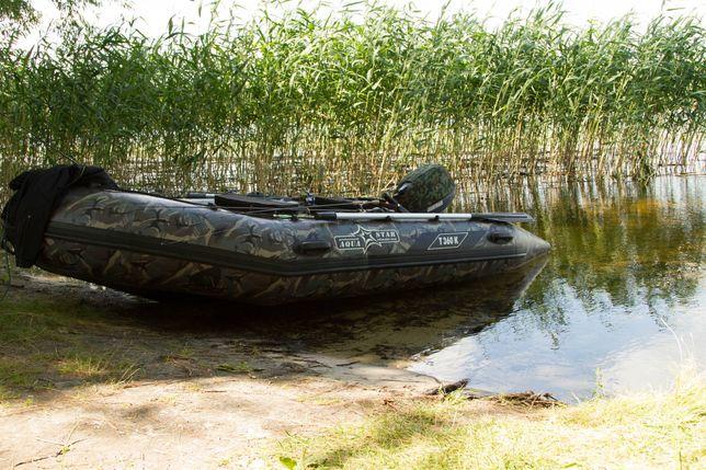 Лодка ПВХ AquaStar Т 360К + лодочный мотор Yamaha 15