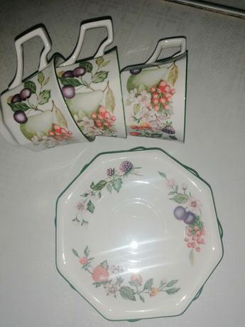 Англия керамика johnson brothers чашка с блюдцем
