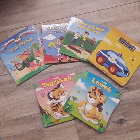 Książki książeczki zestaw