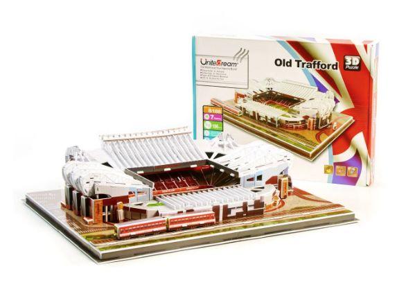 """Стадион Манчестер Юнайтед . Огромные 3D пазлы """"Old Trafford"""""""