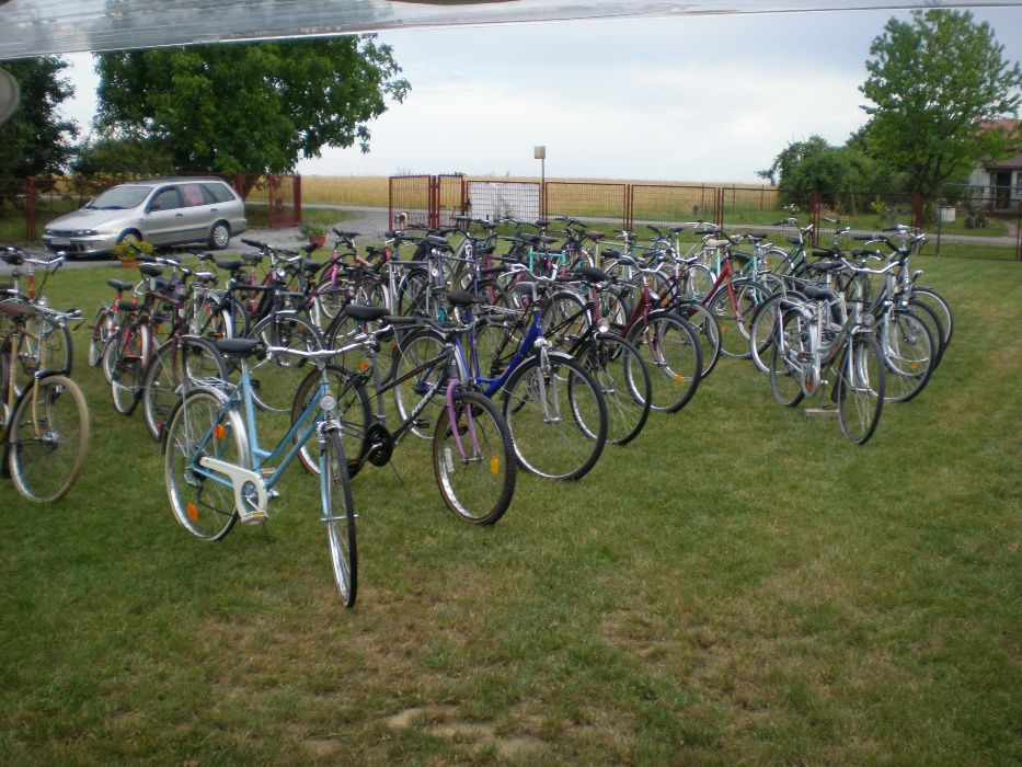 rower miejski z Niemiec w pełni sprawny Sadowie - image 1