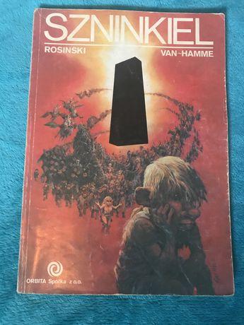 Szninkiel Rosinski Van Hamme Orbit pierwsze wydanie