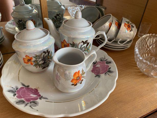 Набор чайный, чашки, посуда