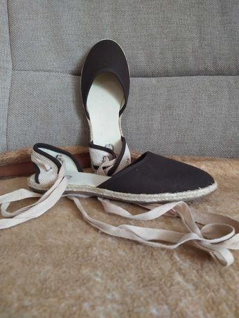Nowe Espadryle damskie buty, sandały rozmiar 37 dł wkł 24cm