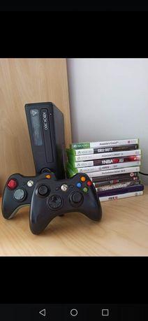Xbox 360 250 GB kinect pady gry