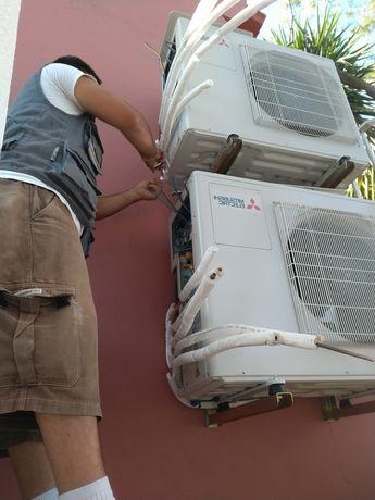 Ar condicionado, manutenção e instalação