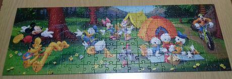 Puzzle Kaczor Donald 160 panoramiczne