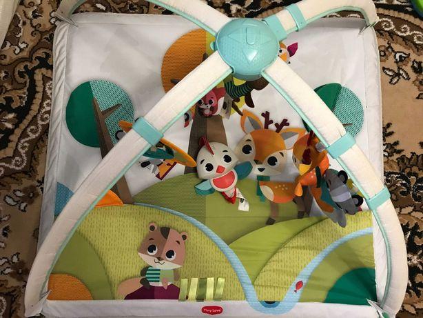 Развивающий коврик Tiny Love лесные друзья