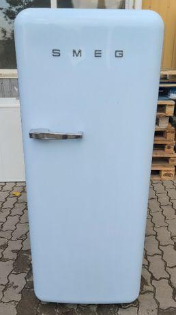 Холодильник Смег Smeg FAB28RPB3 голубой А++ 153см б/у